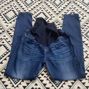 🌹Vigoss Womens Maternity Jeans 32 Blue Skinny